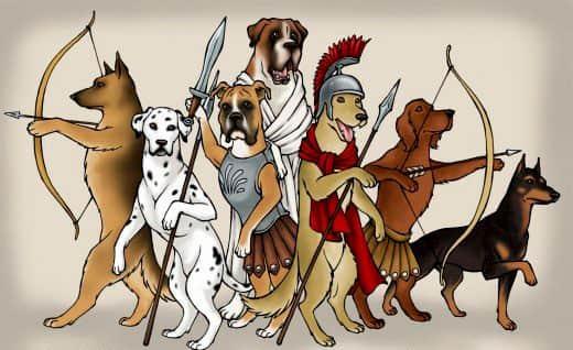 beste römische Namen für Ihren Hund
